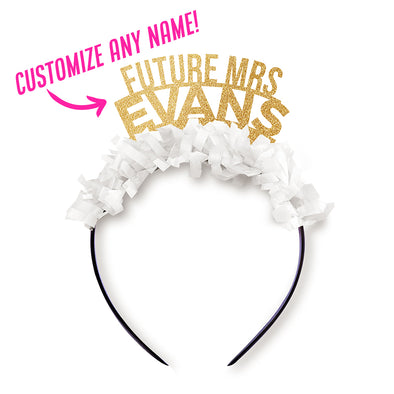 "Custom ""Future Mrs."" Crown"