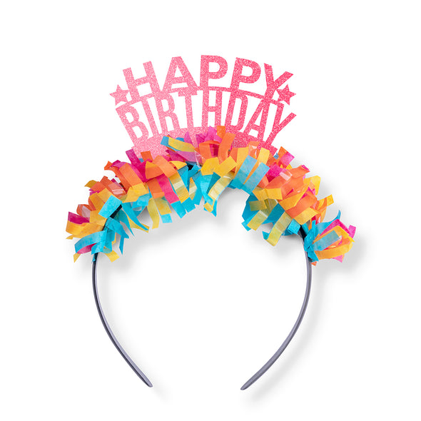 Happy Birthday Party Crown