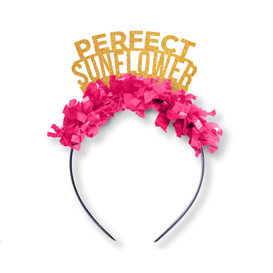 Perfect Sunflower Galentines Party Crown