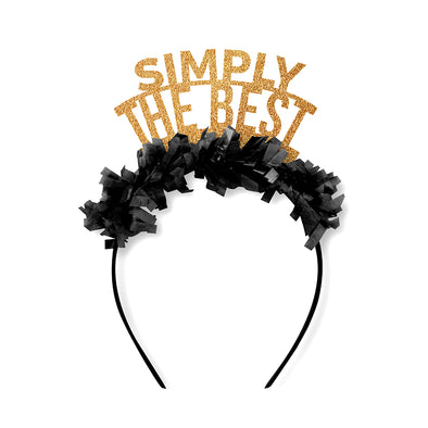 Simply The Best Schitts Creek Party Crown