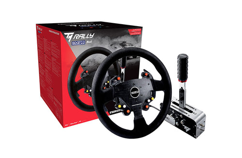 Thrustmaster TM Rally Race Gear Sparco MOD  + Handbrake - Sim Belgium : Simulateur voiture