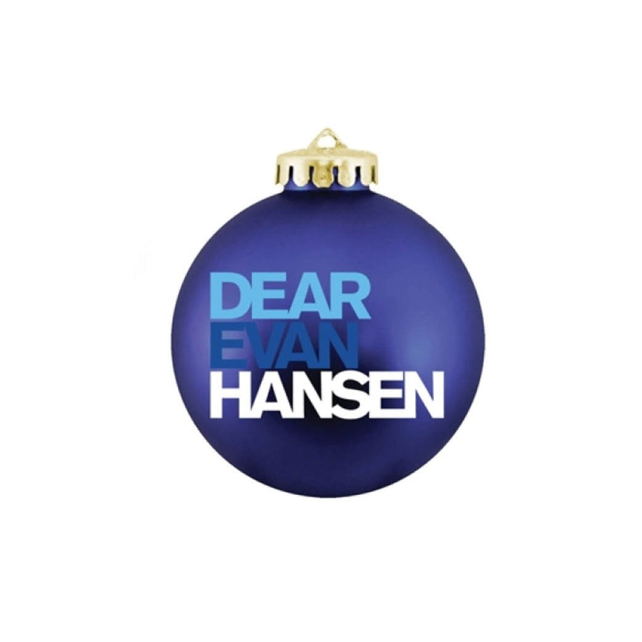 DEAR EVAN HANSEN Blue Ornament
