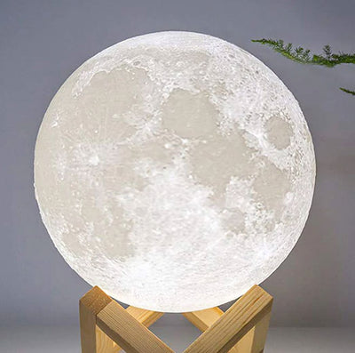 Realistic Moon Lamp Nightlight