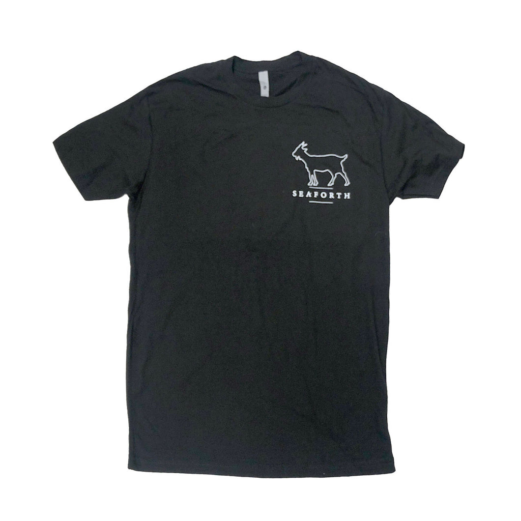 Seaforth Goat Black T-Shirt