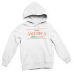 White Make America Green Again Hoodie