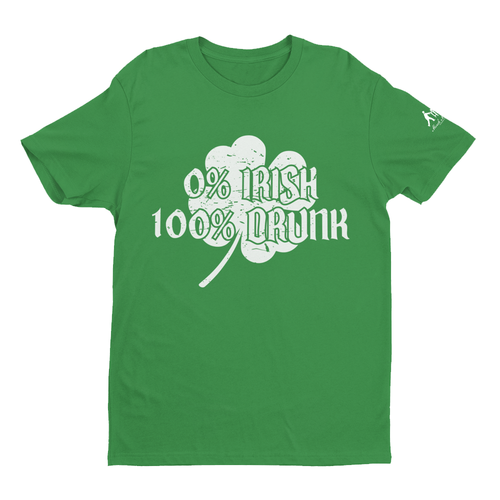 Green St. Patrick's Day shirt with Shamrock