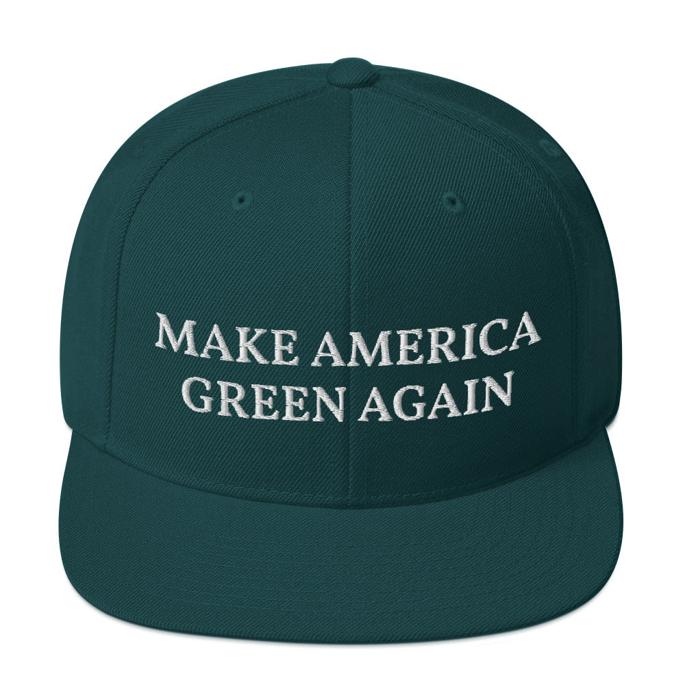 Green Make America Green Again Cap