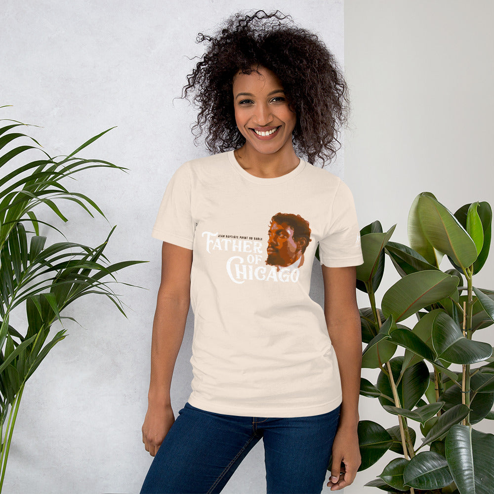 Father of Chicago DuSable Short-Sleeve Unisex T-Shirt