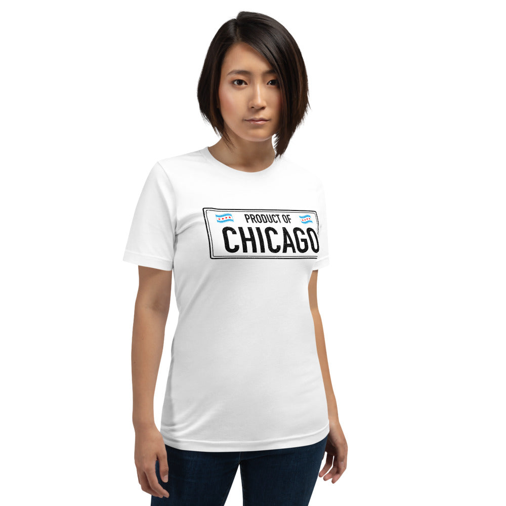Product Of Chicago Short-Sleeve Unisex T-Shirt