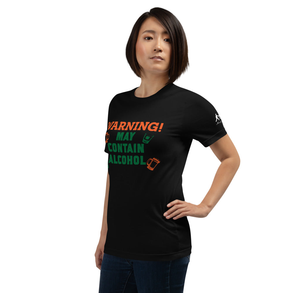 Warning! Short-Sleeve Unisex T-Shirt