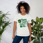 Happy St. Pat's Leprechaun Short-Sleeve Unisex T-Shirt