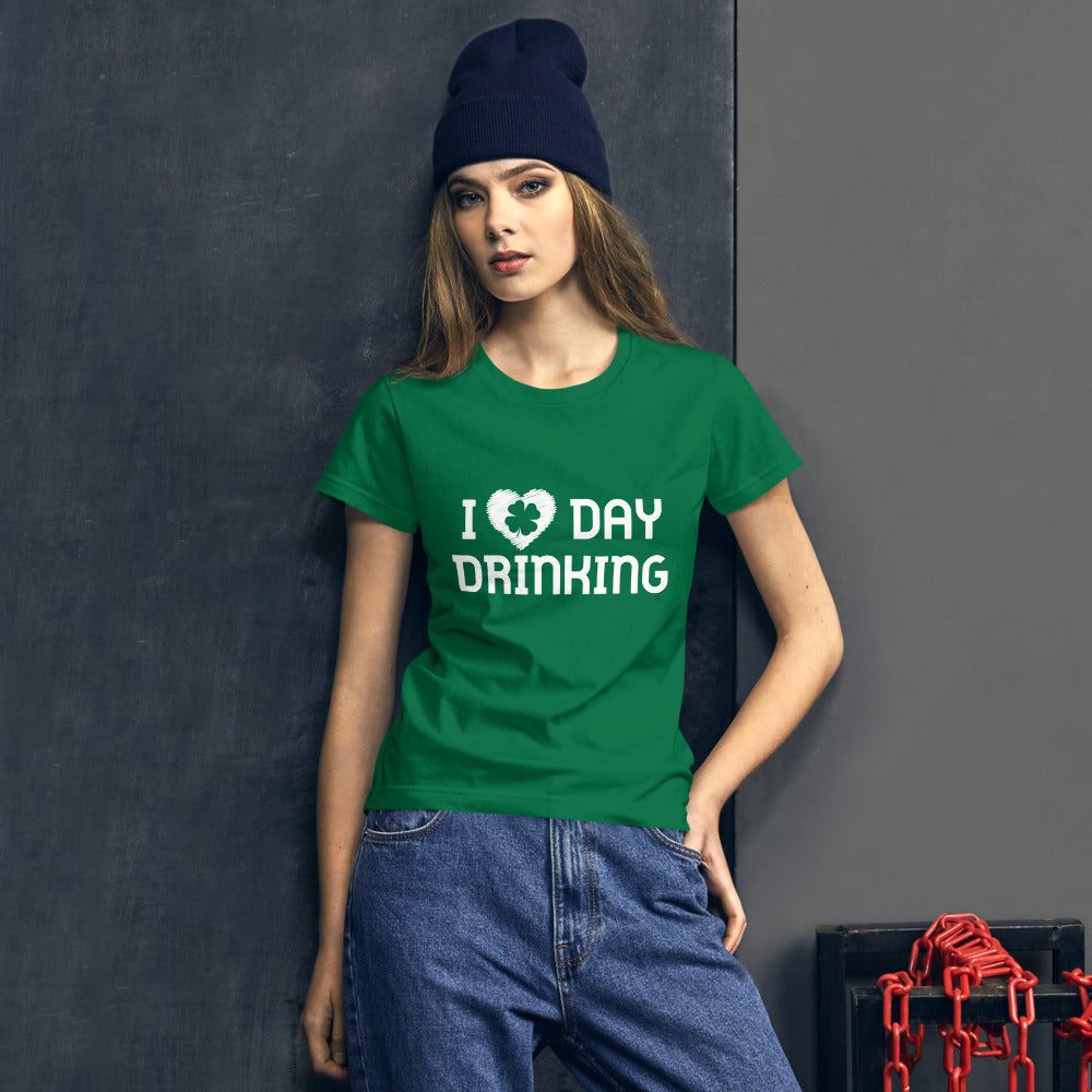I Love Day Drinking Women's short sleeve t-shirt