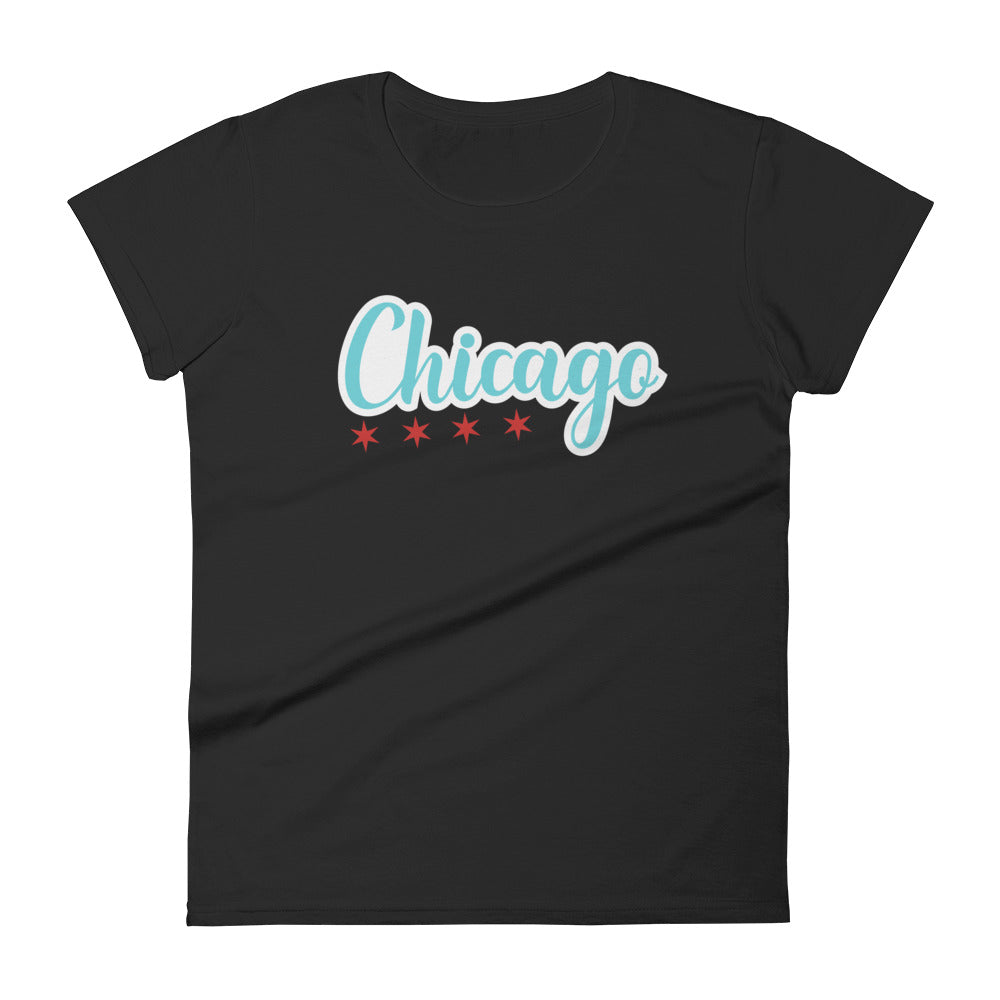 Chicago Stars on t-shirt