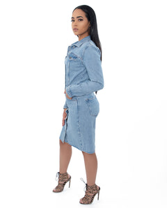 Jordyn Denim Dress