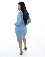 Load image into Gallery viewer, Jordyn Denim Dress