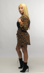 Cheetah Paperbag Skirt