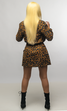 Load image into Gallery viewer, Cheetah Paperbag Skirt