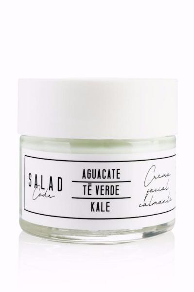 Natural Soothing & Moisturizing Face Cream by Salad Code