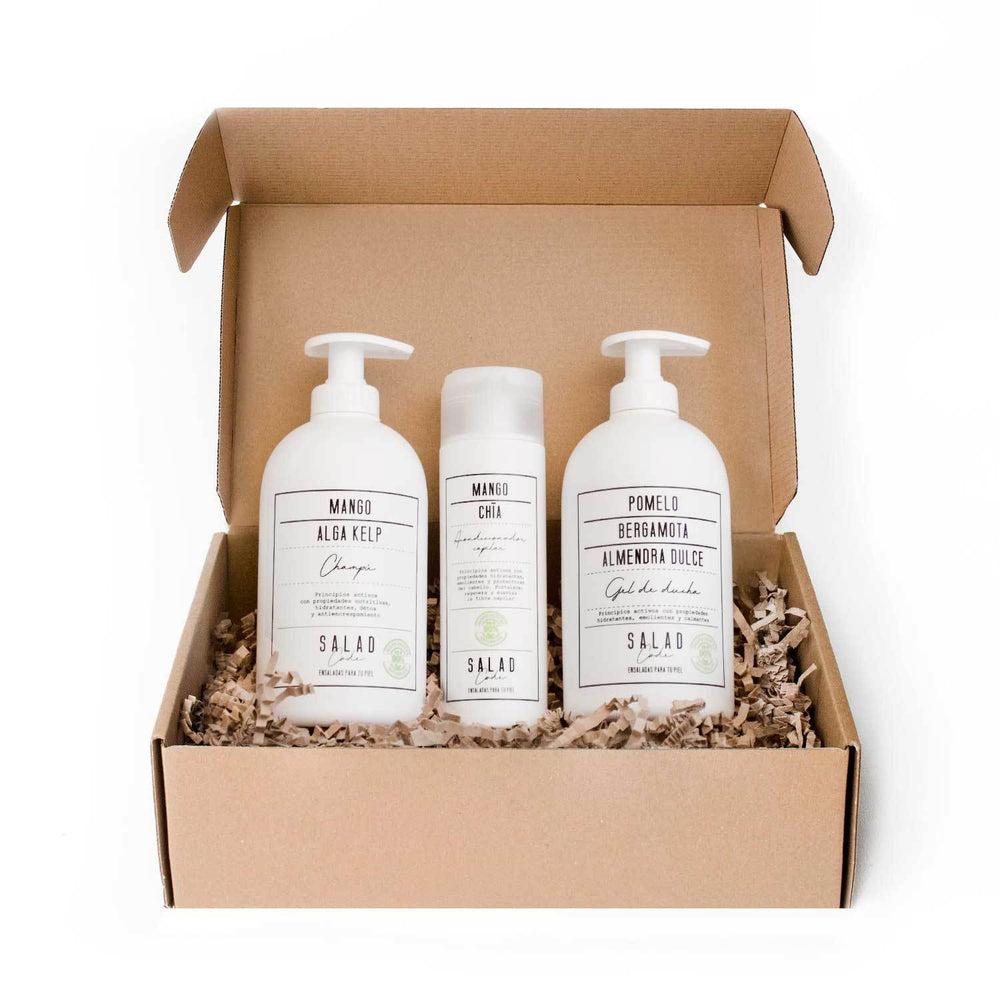 "Natural ""Green Beauty"" Shower Pack by Salad Code"