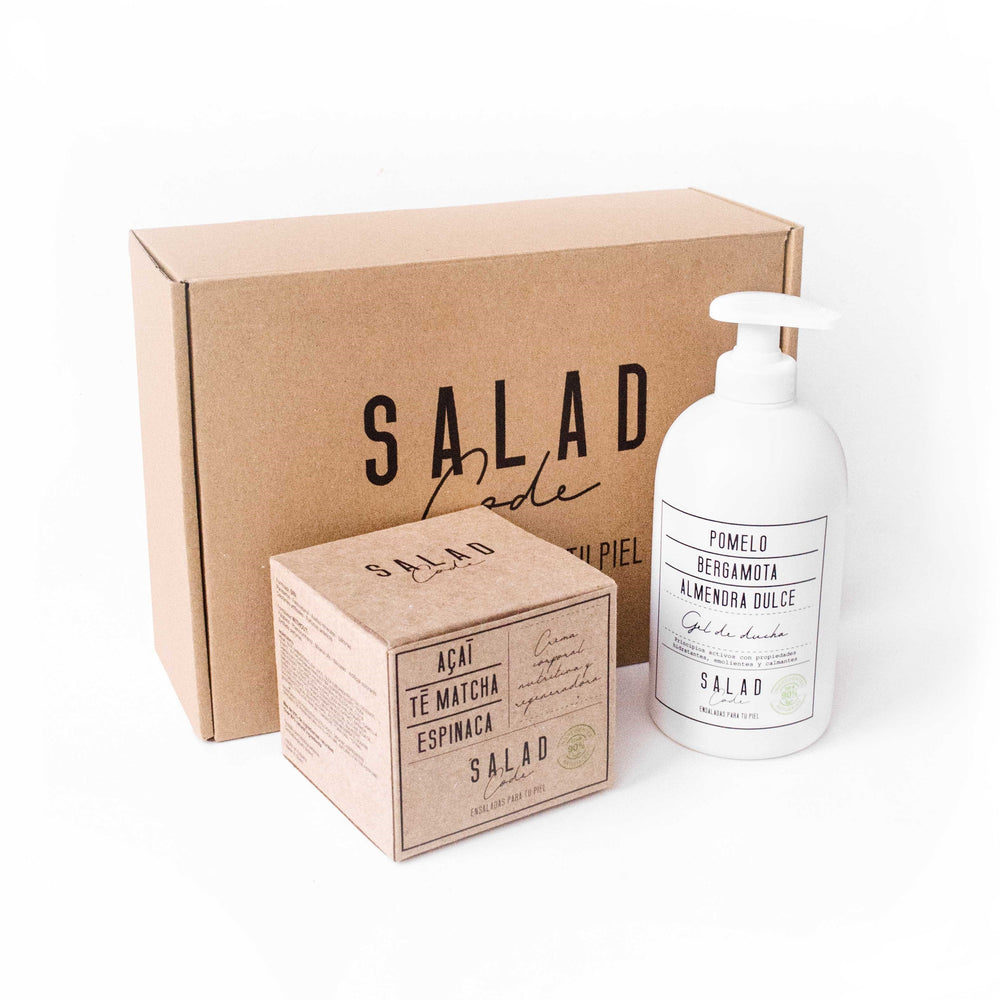 "Natural ""Green Beauty"" Body Pack by Salad Code"