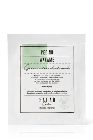 Natural Green Relax Sheet Mask by Salad Code