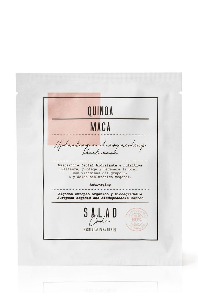 Natural Hydrating & Nourishing Sheet Mask by Salad Code