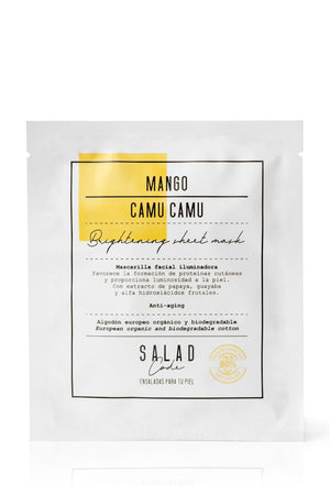 Natural Brightening Sheet Mask by Salad Code