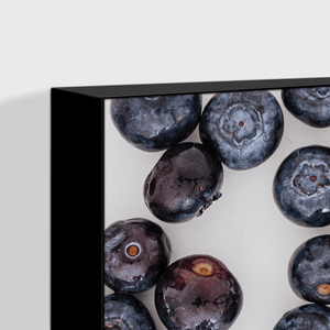 Blueberries 1 - black frame color