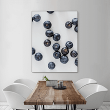 Load image into Gallery viewer, Blueberries 2 - large size - black frame
