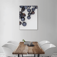 Load image into Gallery viewer, Blueberries 1 - medium size - black frame