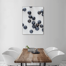 Load image into Gallery viewer, Blueberries 2 - medium size - black frame