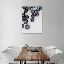 Load image into Gallery viewer, Blueberries 1 - medium size - white frame