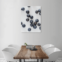 Load image into Gallery viewer, Blueberries 2 - medium size - white frame