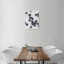 Load image into Gallery viewer, Blueberries 2 - small size - white frame