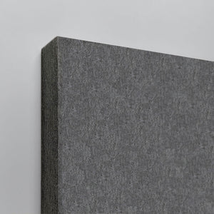Grey wall panel closeup