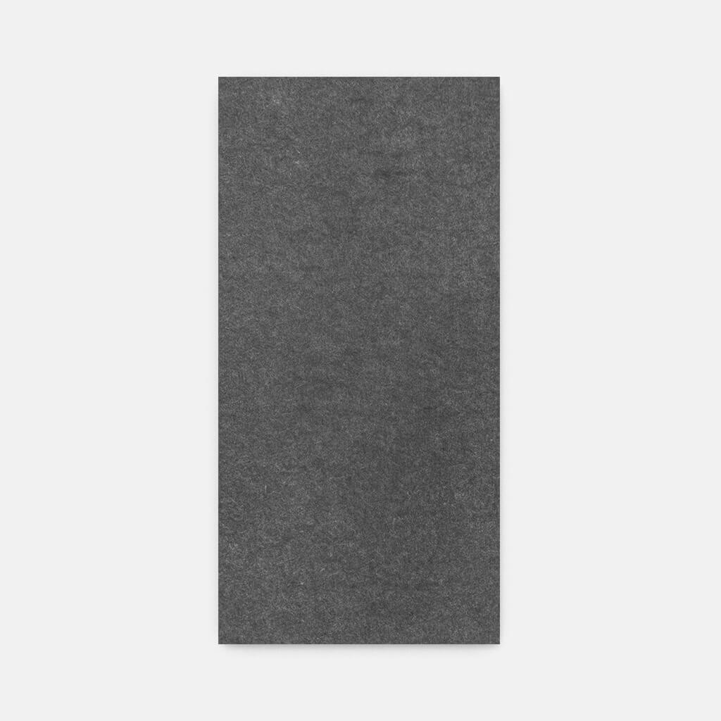 Sound absorbing grey panel