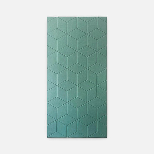 Sound absorbing hexagon panel