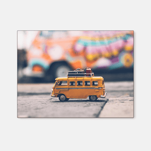 Yellow bus : Four