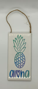 Pineapple Ceramic Wall Decor
