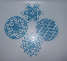 Load image into Gallery viewer, Sacred Geometry Wall & Table art