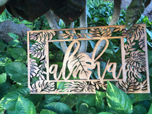Load image into Gallery viewer, Aloha Wood Plaque