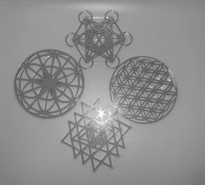 Sacred Geometry Wall & Table art