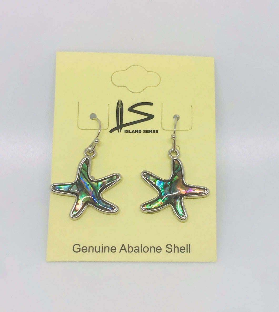 Genuine Abalone Earrings