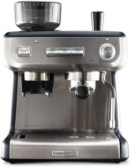Image of Espresso Machine with Grinder and Steam Wand Stainless