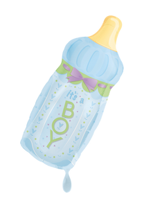 It's a Boy Babyflasche Folienballon 79cm