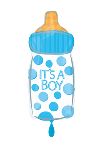 It's a Boy Babyflasche Folienballon 58cm