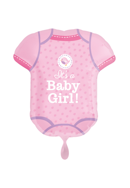 Baby Body Girl Folienballon 60cm