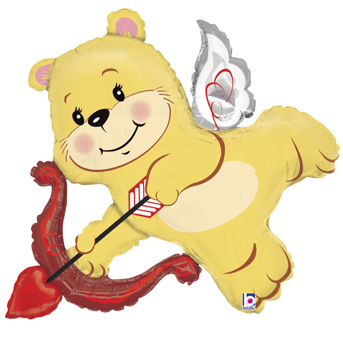 Cupid Bear Folienballon 107cm