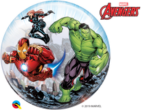 Laden Sie das Bild in den Galerie-Viewer, Marvel's Avengers Classic Bubble Ballon heliumgefüllt