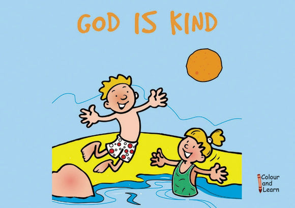 God is Kind (Colour and Learn)